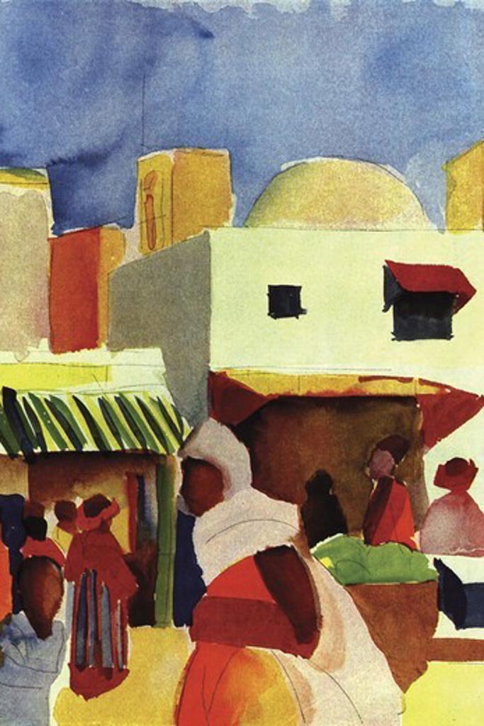 Market in Algiers , Fine Art : Stock Photo
