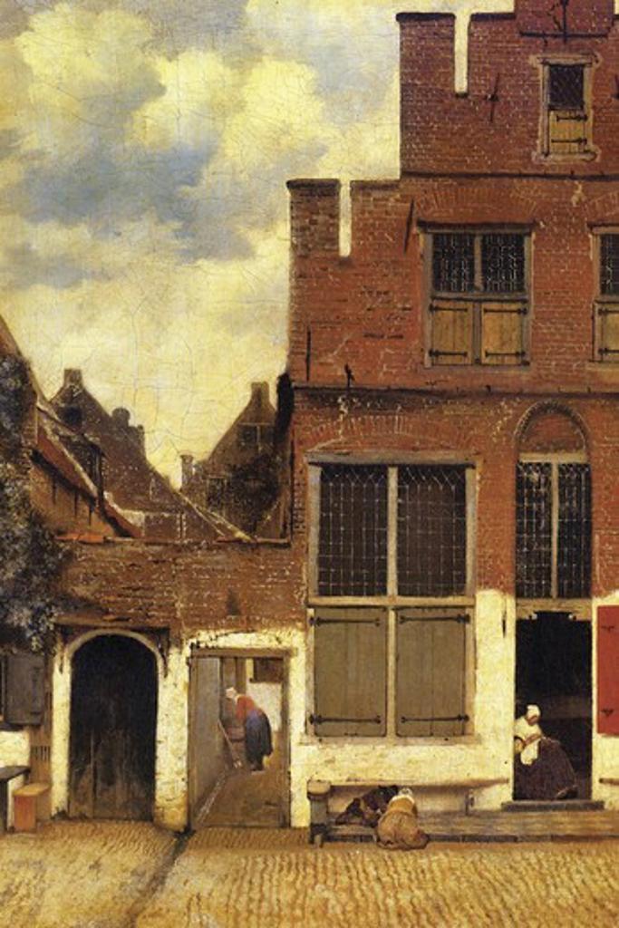 The little street   , Fine Art : Stock Photo