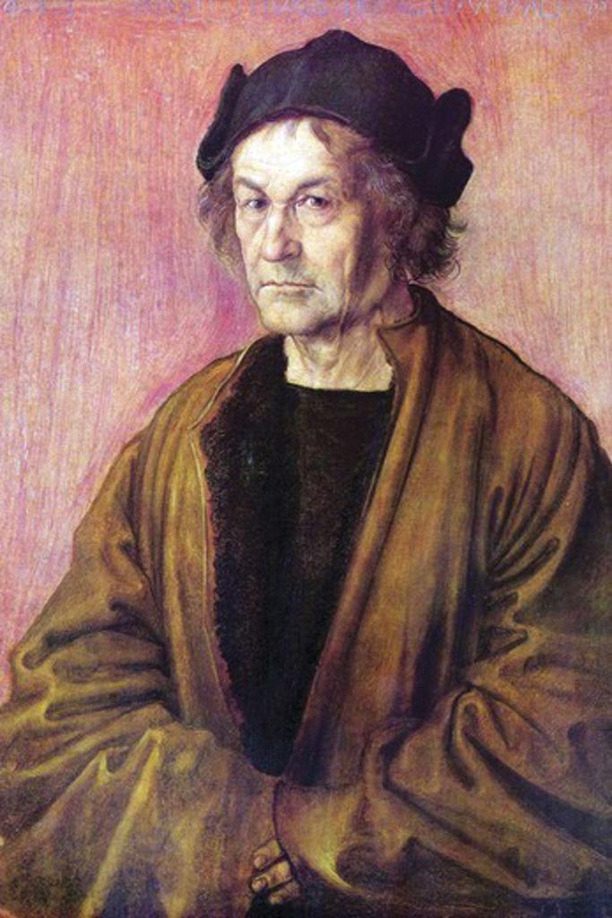Stock Photo: 4408-16190 Portrait of Albrecht Durer the Elder [2]   , Fine Art