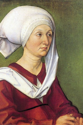 Portrait of Barbara Durer, born Holper   , Fine Art : Stock Photo