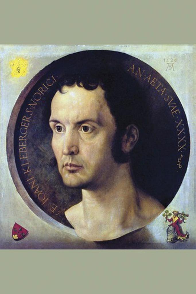 Stock Photo: 4408-16201 Portrait of Johannes Kleberger   , Fine Art