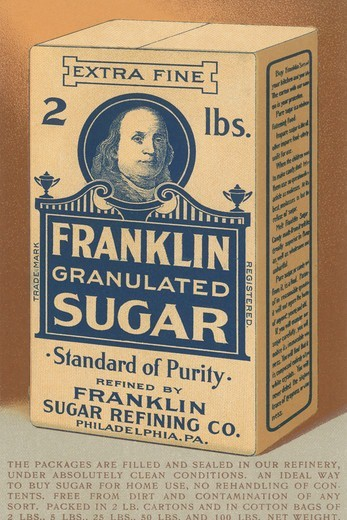 Stock Photo: 4408-16533 Franklin Granulated Sugar, Advertising