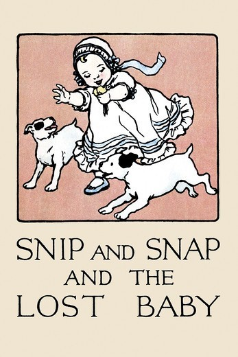 Stock Photo: 4408-16571 Snip and Snap and the Lost Baby, Victorian Children's Literature