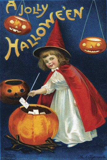 Stock Photo: 4408-16878 Jolly Hallowe'en, Halloween