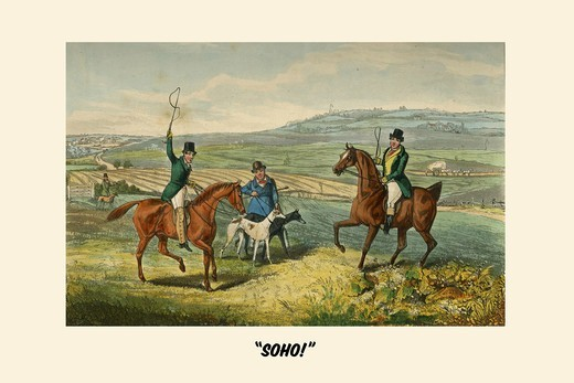 Stock Photo: 4408-18486 Soho, Life of a Sportsman