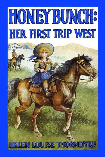 Honey Bunch: Her First Trip West, Book Cover : Stock Photo
