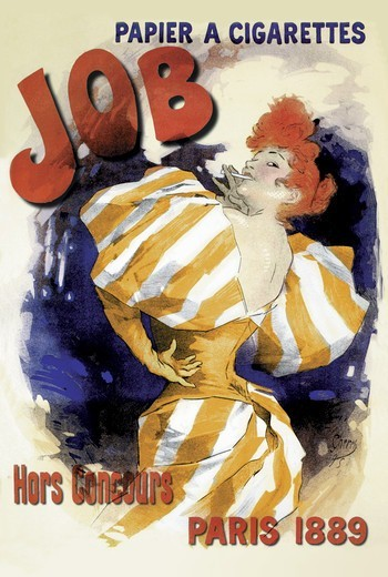Stock Photo: 4408-2558 Job, 1889, Belle Epoque Poster Art