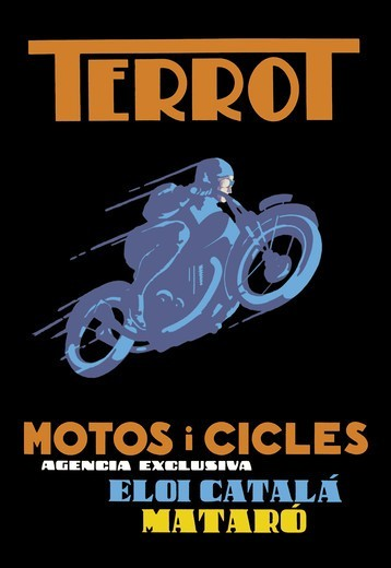 Terrot Motorcycles and Bicycles, Motorcycles : Stock Photo