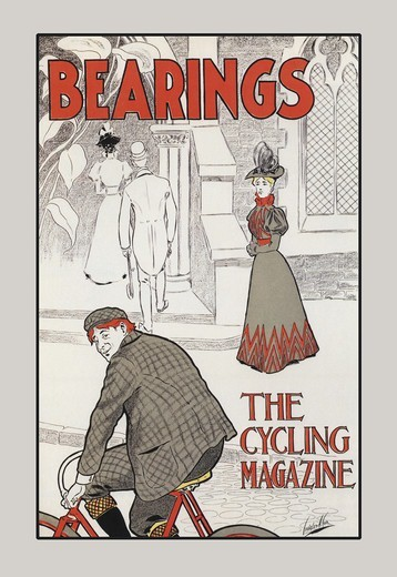 Stock Photo: 4408-3267 Bearings: The Cycling Magazine, American Journals - 1890's