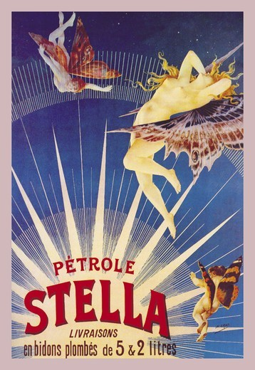 Stock Photo: 4408-3496 Petrole Stella, Lamps & Lighting