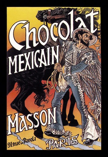 Stock Photo: 4408-3522 Masson: Chocolat Mexicain, Chocolate & Cocoa