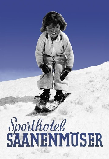 Stock Photo: 4408-4197 Sporthotel Saanenmoser: Little Girl Skiing, Skiing