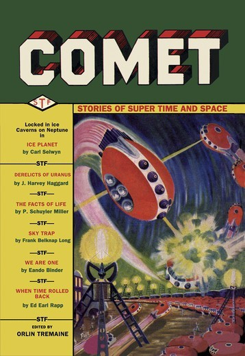 Stock Photo: 4408-4471 Comet: UFO Dogfight, Pulp Magazine Covers