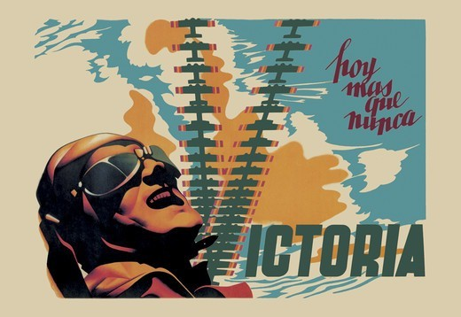 Stock Photo: 4408-4525 Victory, Spanish Civil War