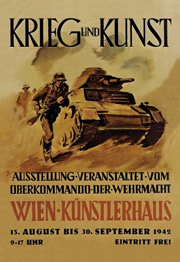 Stock Photo: 4408-5615 Krieg Und Kunst (War and Art), Tanks