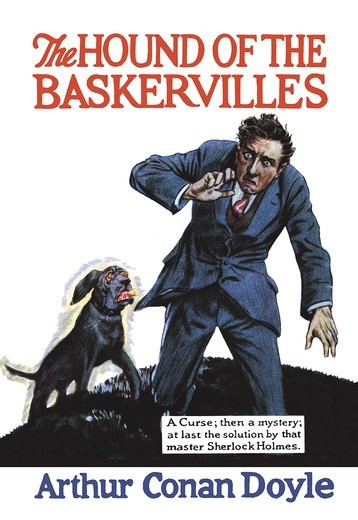 Stock Photo: 4408-5792 Hound of the Baskervilles #1 (book cover), Sherlock Holmes