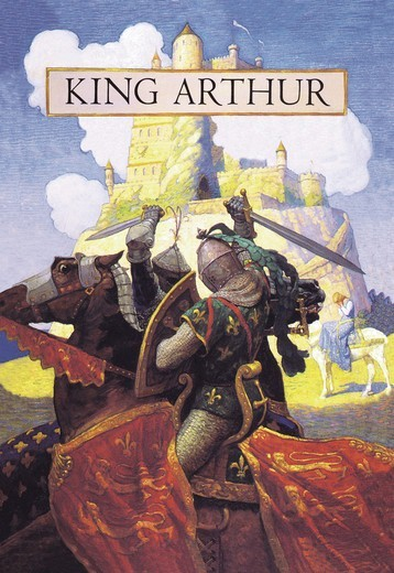 Stock Photo: 4408-6062 King Arthur, N.C. Wyeth