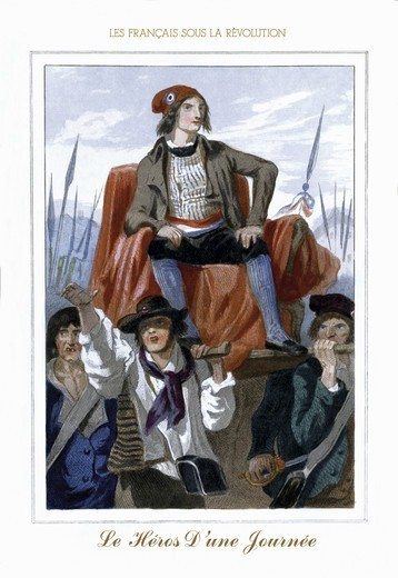 Stock Photo: 4408-6138 Hero d'une Journee, French Revolution