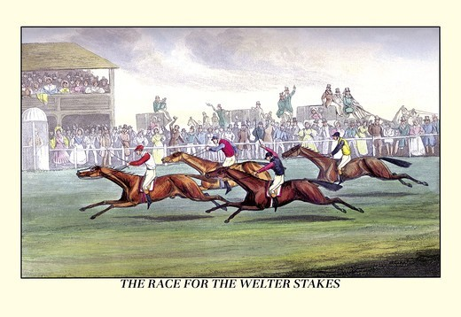 Stock Photo: 4408-6391 Race for the Welter Stakes, Dogs