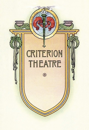 Stock Photo: 4408-6524 Criterion Theatre, Theater - New York