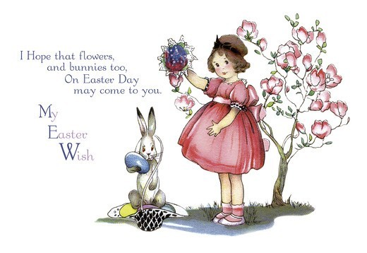 Stock Photo: 4408-8633 My Easter Wish, Easter