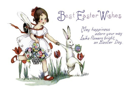 Stock Photo: 4408-8639 Best Easter Wishes, Easter