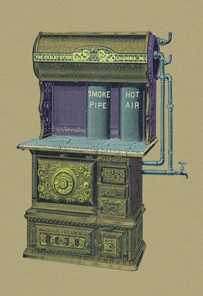 Newport Series F, Interior Design - Plumbing Fixtures & Furnaces : Stock Photo