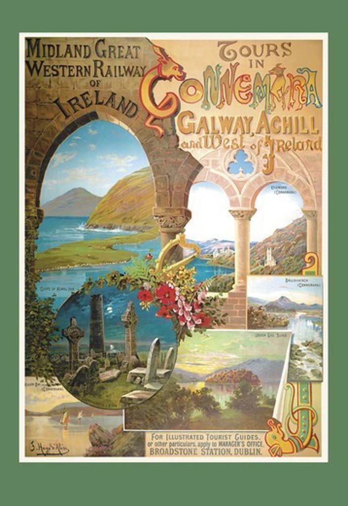 Midland Great Western Railway, Irish : Stock Photo