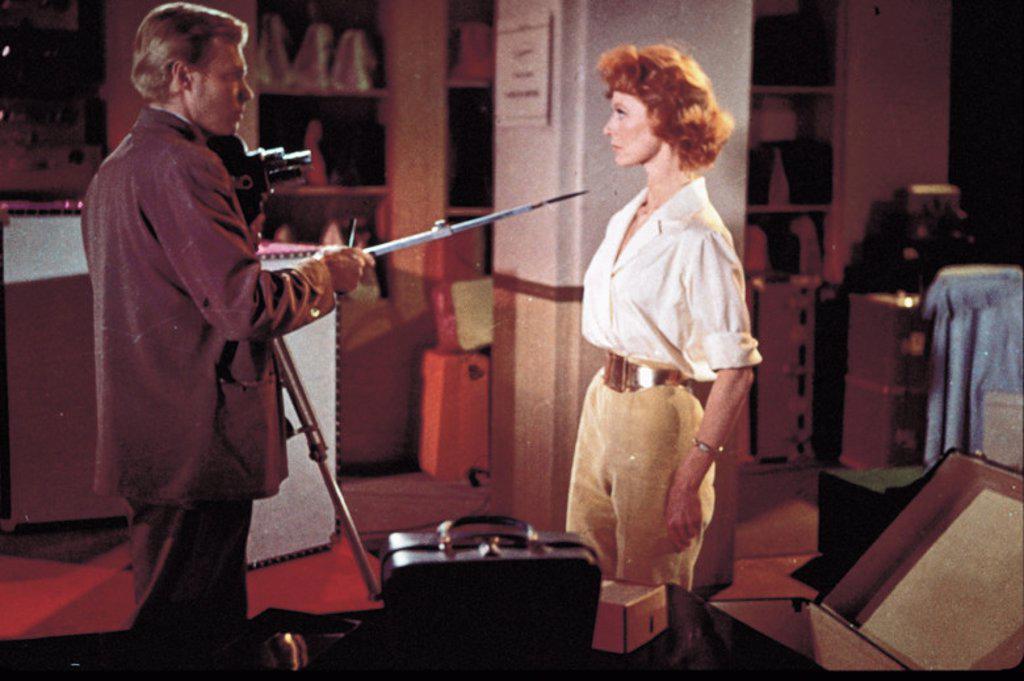 Stock Photo: 4409-101184 Original Film Title: PEEPING TOM. English Title: PEEPING TOM. Film Director: MICHAEL POWELL. Year: 1960. Stars: MOIRA SHEARER; KARLHEINZ BOEHM.