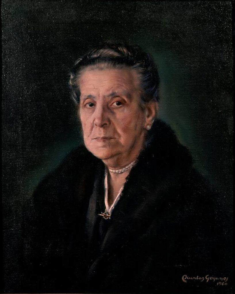 Stock Photo: 4409-10145 RETRATO DE MI MADRE - SIGLO XX. Author: QUINTAS LUIS 1907-. Location: MUSÉE DES BEAUX-ARTS, CORUÑA, SPAIN.