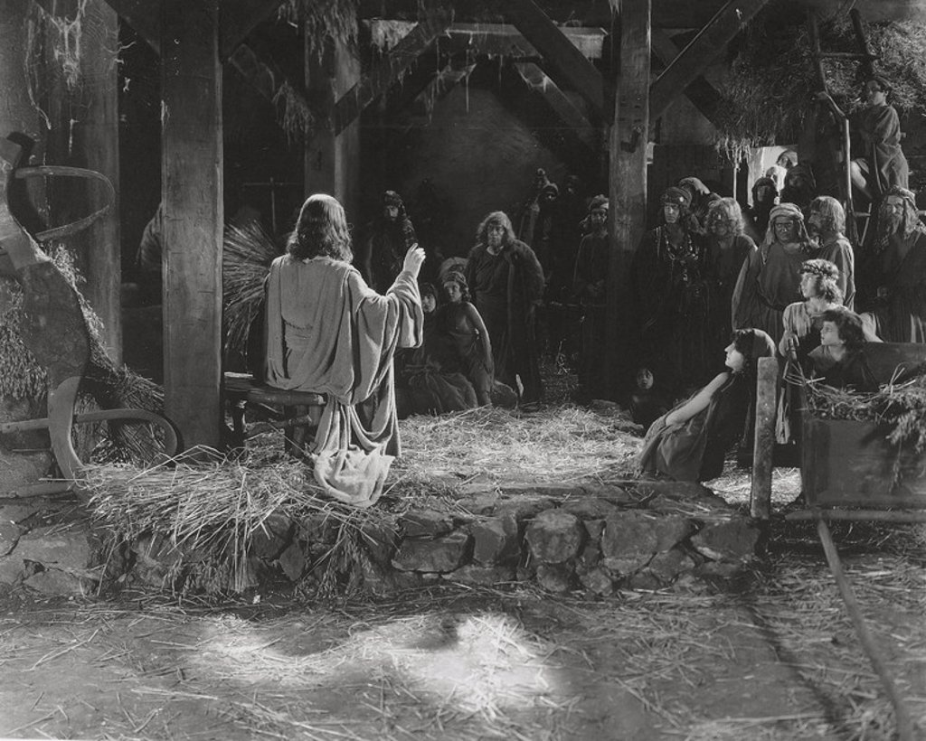 Original Film Title: THE TEN COMMANDMENTS. English Title: THE TEN COMMANDMENTS. Film Director: CECIL B DEMILLE. Year: 1923. Stars: MOSE. : Stock Photo