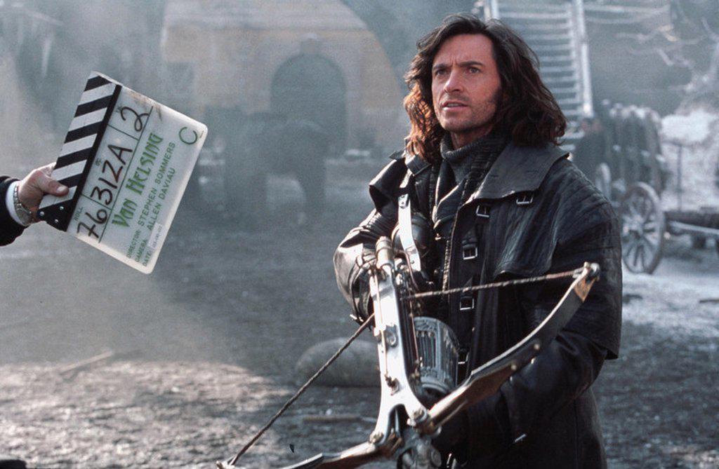 Stock Photo: 4409-115354 Original Film Title: VAN HELSING. English Title: VAN HELSING. Film Director: STEPHEN SOMMERS. Year: 2004. Stars: HUGH JACKMAN.