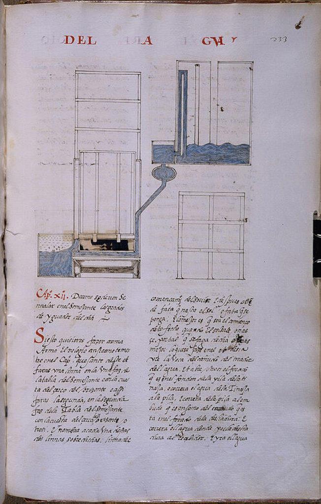 MS HI1-FOL 233- COPIA DEL LIBRO DEL SABER DE ASTRONOMIA-1276 EJEMPLAR DE JUAN HONORATO DE 1562. Author: ALFONSO X OF CASTILE, THE WISE. Location: MONASTERIO-BIBLIOTECA-COLECCION, SAN LORENZO DEL ESCORIAL, MADRID, SPAIN. : Stock Photo