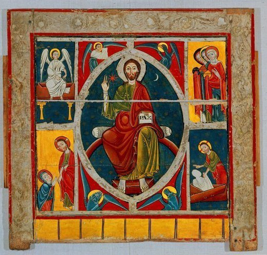 Stock Photo: 4409-16921 PANTOCRATOR. Location: PRIVATE COLLECTION, MADRID, SPAIN.