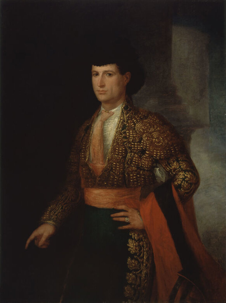 RETRATO DE JOSE REDONDO, EL CHICLANERO-OLEO LIEZO, 121x91,4 CM. Author: GUTIERREZ DE LA VEGA JOSE. Location: MUSEO NACIONAL DE BELLAS ARTES, LA HABANA, CUBA. : Stock Photo