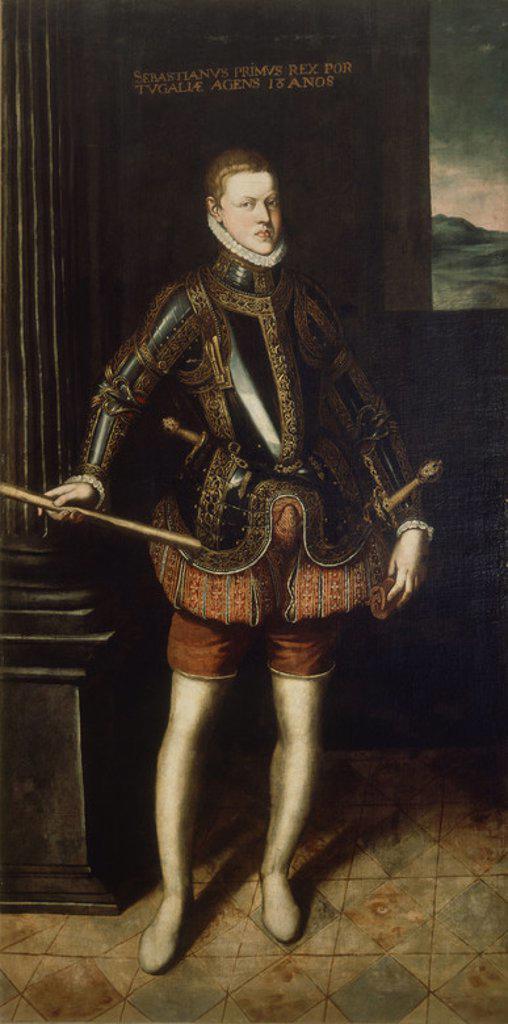 Stock Photo: 4409-21152 DON SEBASTIAN DE PORTUGAL (1554/1578) - REY DE PORTUGAL - RENACIMIENTO ITALIANO. Author: ANGUISSOLA, SOFONISBA. Location: PRIVATE COLLECTION, MADRID, SPAIN.