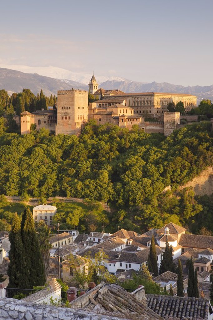 Stock Photo: 4409-31056 Alhambra de Granada. Granada City. Andalusia. Spain.