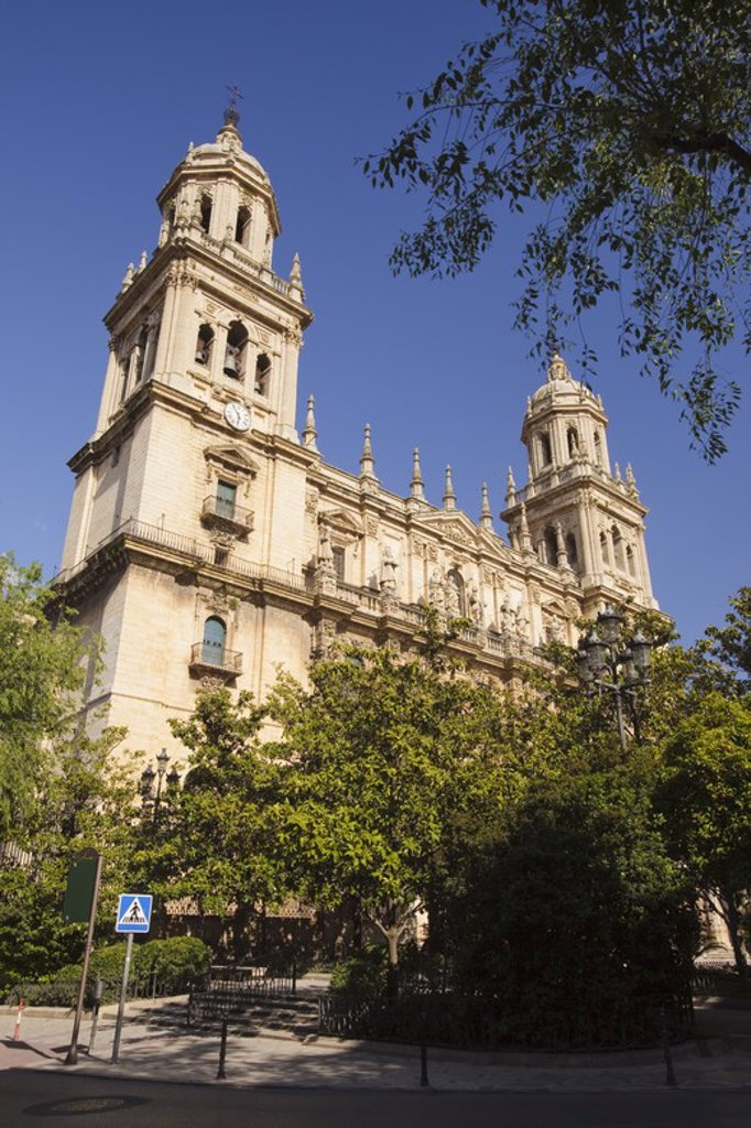 Stock Photo: 4409-31108 Cathedral of Jaen City. Andalusia. Spain.