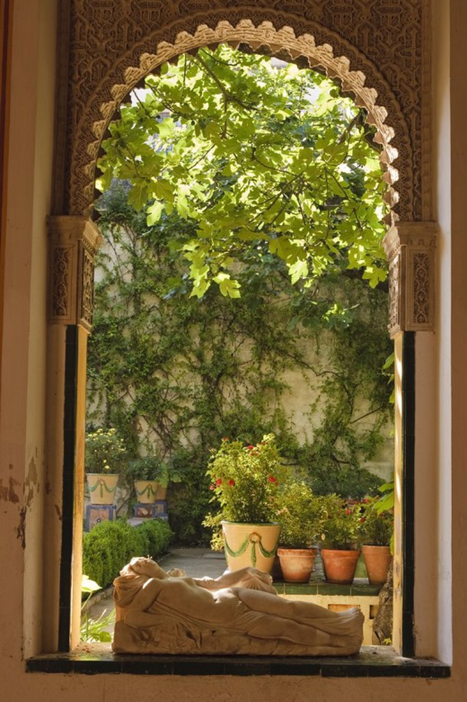 Stock Photo: 4409-31173 Casa de Pilatos. Sevilla City. Andalusia. Spain.