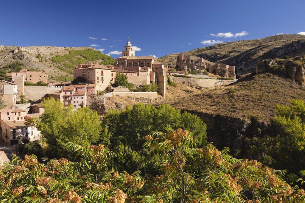 Stock Photo: 4409-32005 Albarracin. Teruel. Spain.