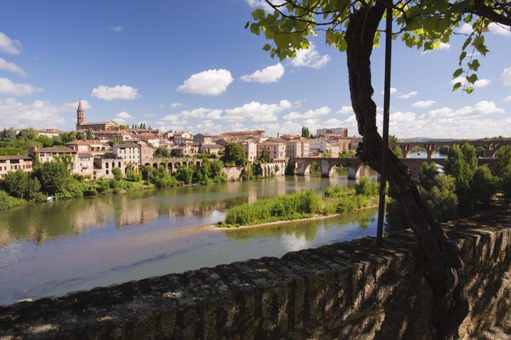 Albi City. Tarn. France. : Stock Photo