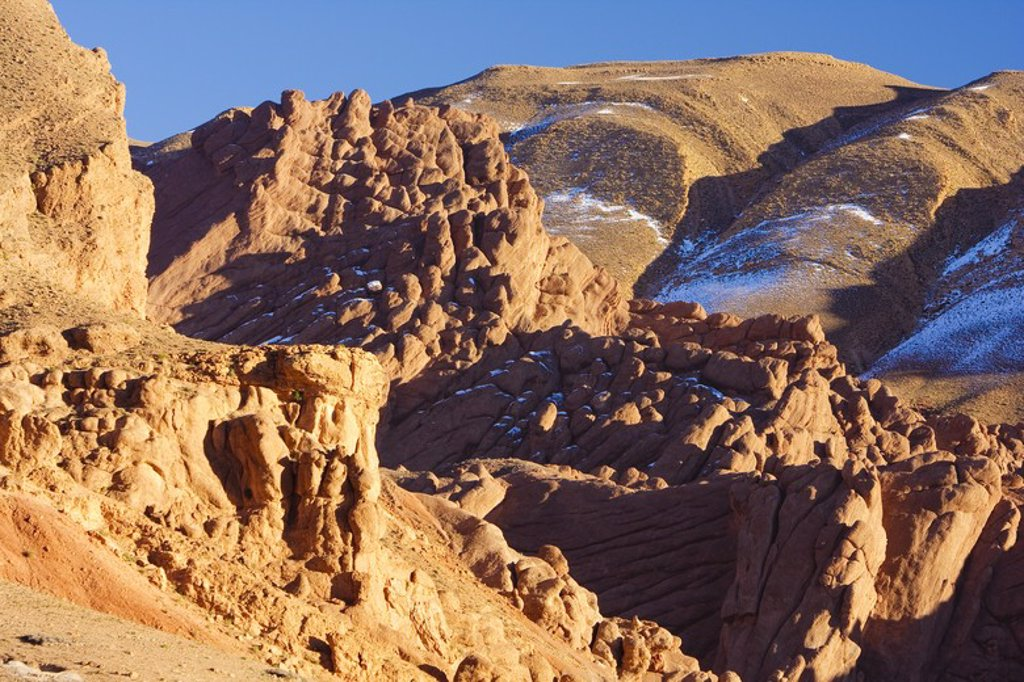 Stock Photo: 4409-32277 Dades Valley. Morocco.