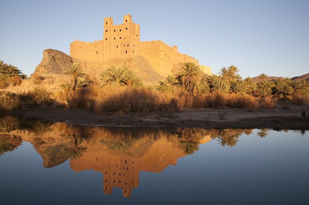 Kasbah of Mouha au Said. Drâa Valley. Morocco. : Stock Photo