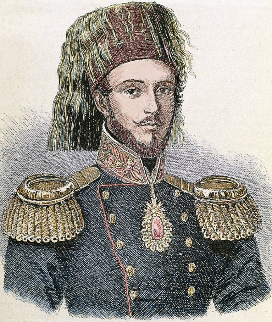Stock Photo: 4409-37159 Abdulmecit I (1823-1861). Ottoman Sultan (1839-1861).
