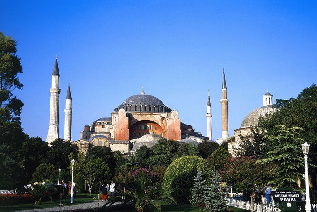 Stock Photo: 4409-43676 Turkey. Istanbul. Hagia Sophia. Exterior.