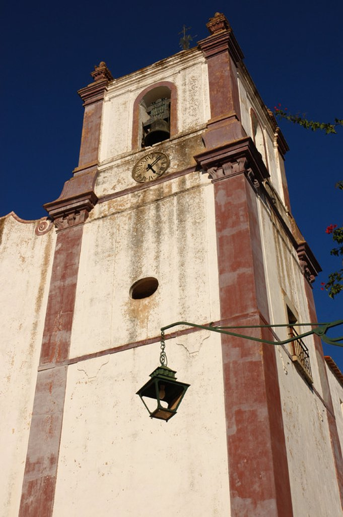 Stock Photo: 4409-44408 Portugal. Silves Cathedral (15th century). Bell tower. Algarve.