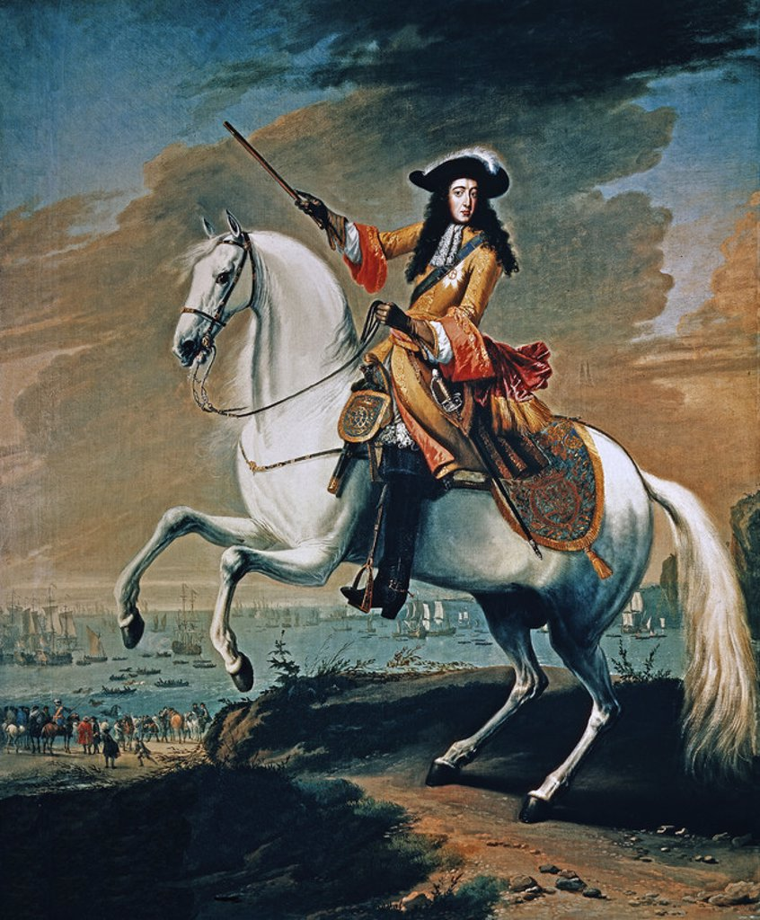 GUILLERMO III DE NASSAU E INGLATERRA-PRINCIPE DE ORANGE (1650/1702). Author: WYCB JAN. Location: NATIONAL MARITIME MUSEUM, GREENWICH, ENGLAND. : Stock Photo