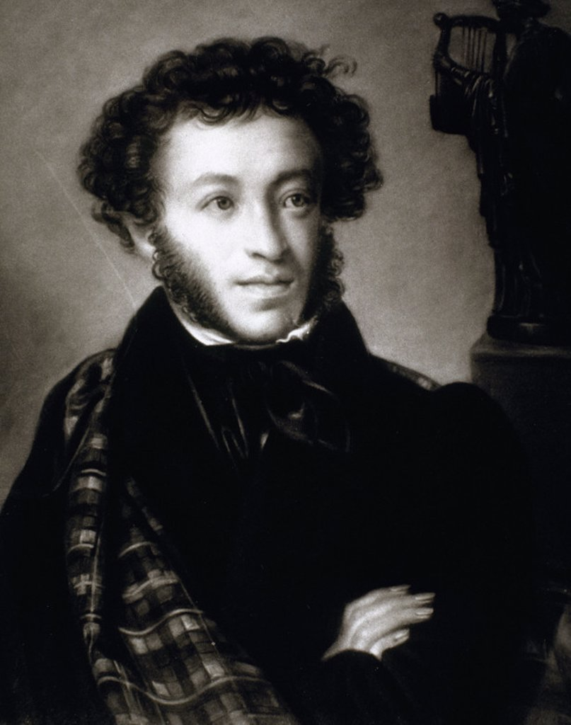 Stock Photo: 4409-46113 PUSHKIN, Aleksandr Sergeevic (1799-1837). Poeta ruso.
