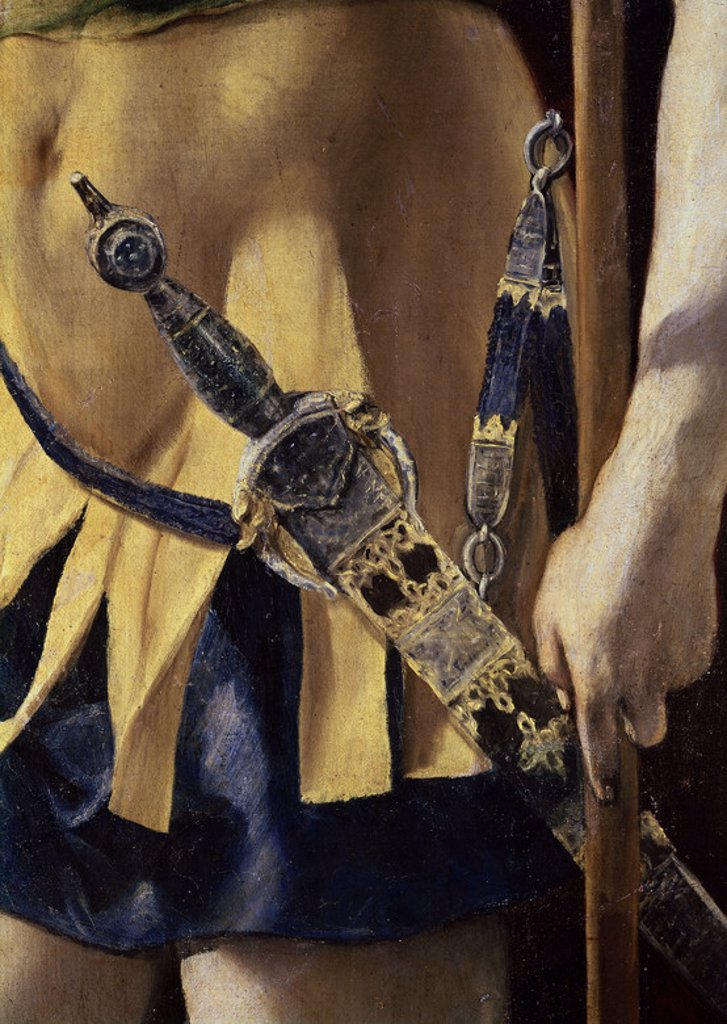 Stock Photo: 4409-4633 Martyrdom of Saint Maurice (detail). Martirio de San Mauricio (detalle). Saint Laurent of the Escorial, monastery. Author: EL GRECO. Location: MONASTERIO-PINTURA, SAN LORENZO DEL ESCORIAL, MADRID, SPAIN.