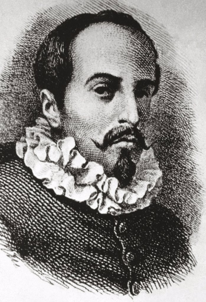 Juan Ruiz de Alarco´n y Mendoza (1581-1639). Novohispanic dramatist of the Golden Age. Born in New Spain (modern Mexico). : Stock Photo